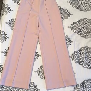 Antonio Melani High Waisted Dress Pant Pale Pink